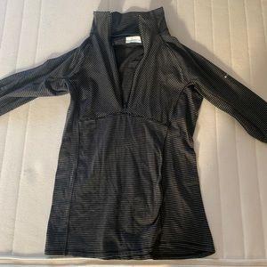 Columbia half zip long sleeve shirt